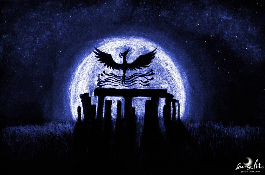 Stonehenge - Source of magic by Gewalgon