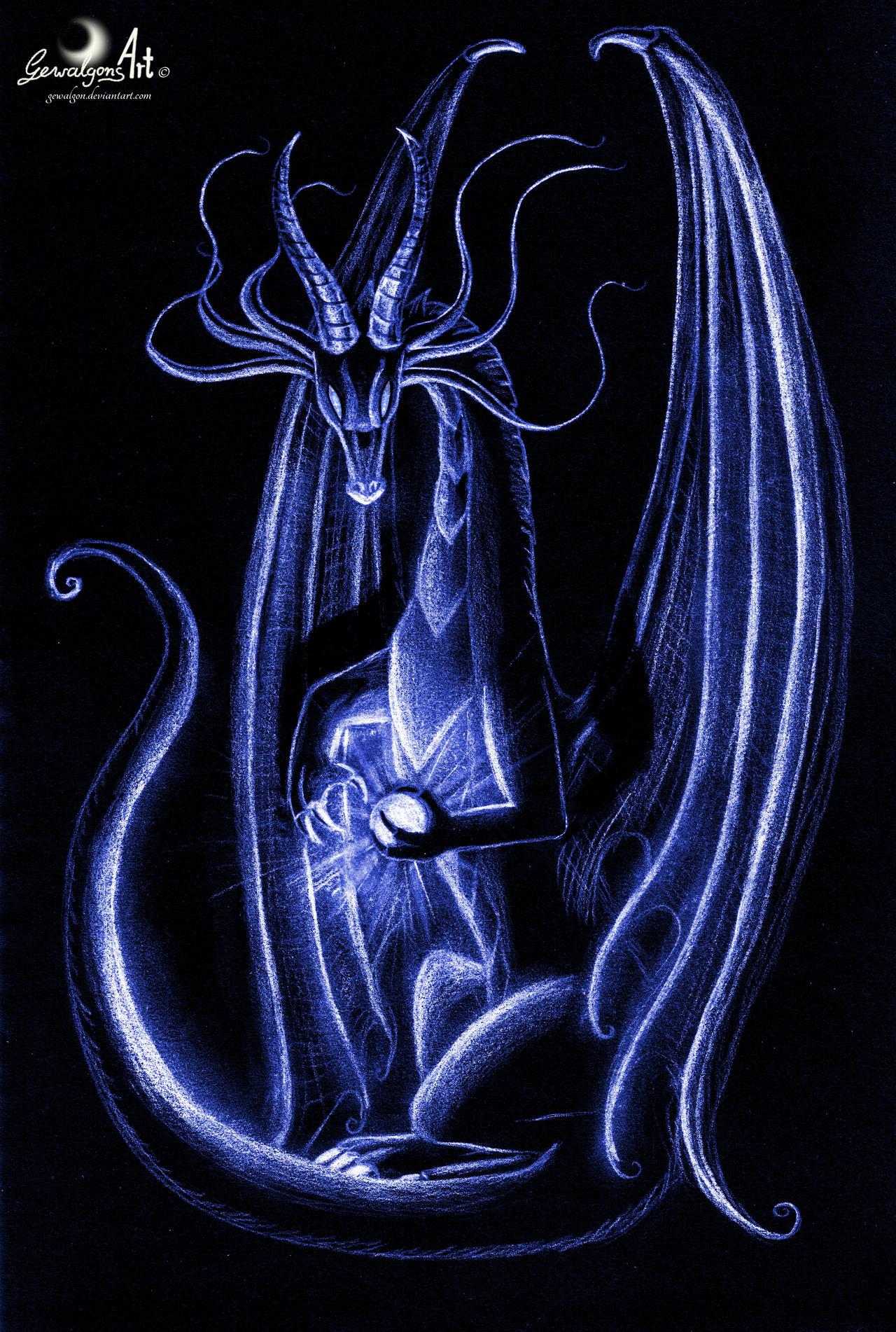 Blue Dragon Light by Gewalgon
