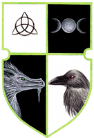 Coat of arms - Alvrericjas and Raym by Gewalgon