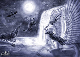 Magical Souls of Avalon by Gewalgon