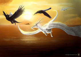 Endless Flight - Creatures of Lemuria ~ by Gewalgon