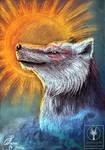 The rising sun by Gewalgon