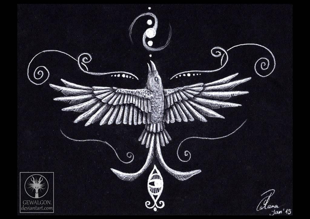 Rashyria - Goddess of Vision by Gewalgon