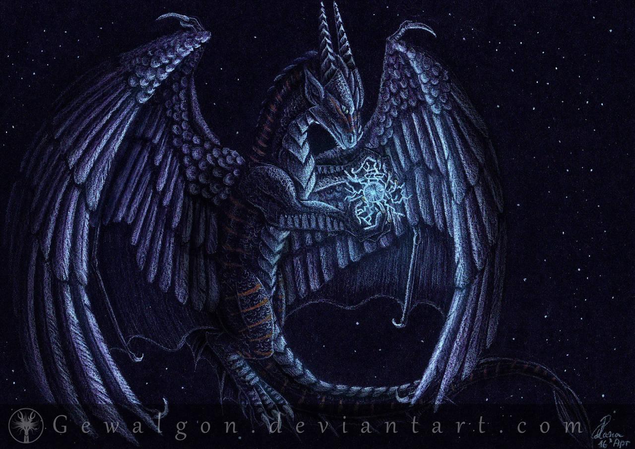 [COMMISSION] - Lightning Magic by Gewalgon