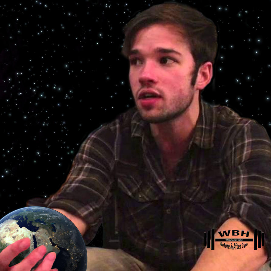 nathan kress muscles 2016. nathan kress holding the earth by wannabehuge muscles 2016