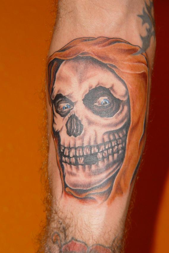 misfits skull by jangotat2 on DeviantArt Misfits Skull Tattoo