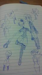 Doodle20 by dragonjule