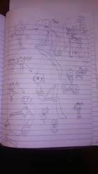 New Sticks doodle by dragonjule