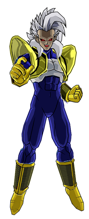 Baby Vegeta final form v2 by antomase on DeviantArt