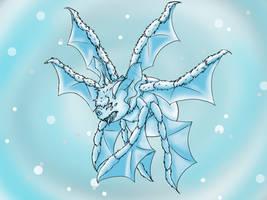 Spiderbat: Albino Ice flavour by silhouette345