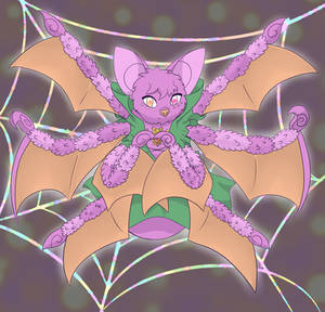 Spider Bat: Magical Girlified