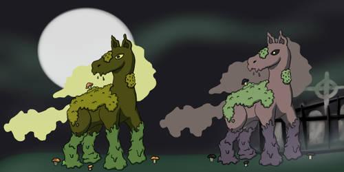 Horsemon: Detrotus by silhouette345