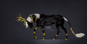 Black and Gold Adopt [CLOSED]
