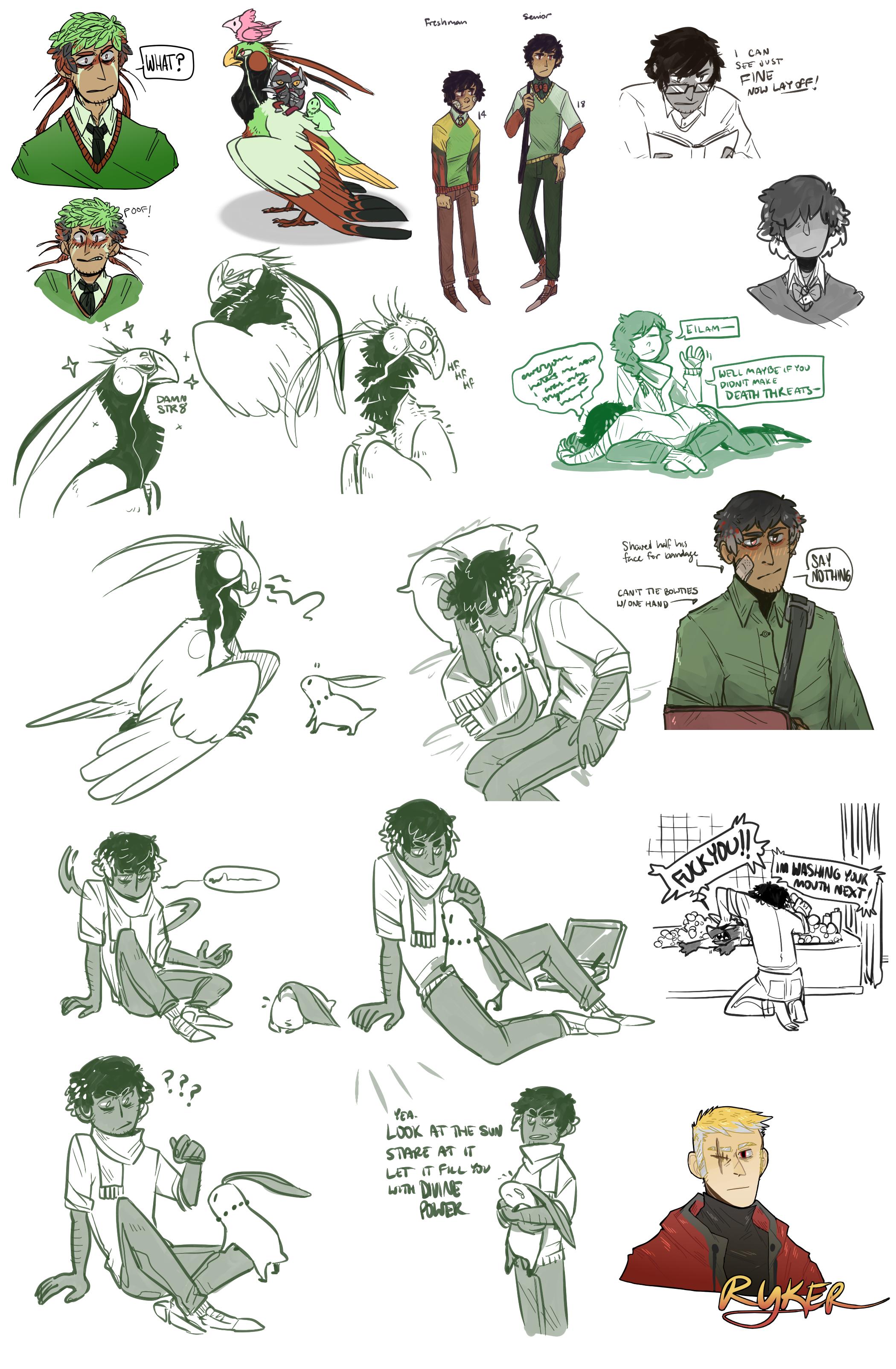 pma - sketches 03 by CoryKatze