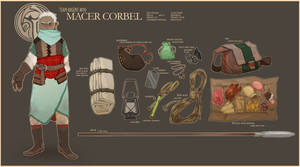 dnd: macer corbel by corycatte