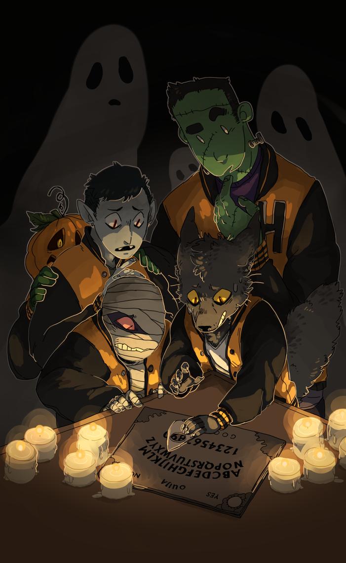 Halloween 2014 by CoryKatze