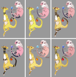 Flaaffy and Ampharos Variations