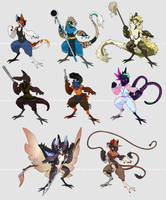 YGH - The Fighters 2 by corycatte