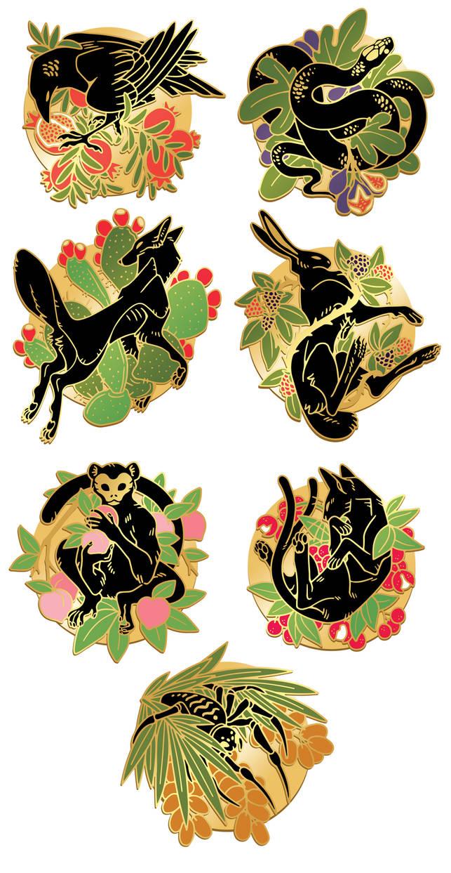 Sweet Talk Hard Enamel Pins Kickstarter by corycatte on