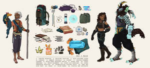 [c] Inventory Sheet + Chara Design: Kali-Naan