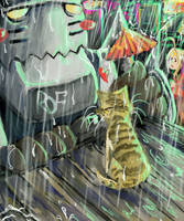 Raining Cats - contest entry by FalyneVarger