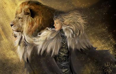 Spirit of the Lion by FalyneVarger