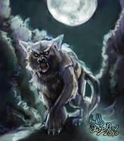 Kaylie Werewolf - grab bag by FalyneVarger