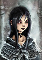 Victorian Goth by FalyneVarger