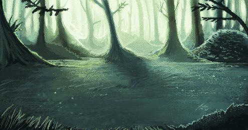 Forest Battle Background by FalyneVarger
