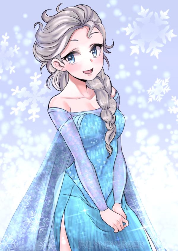 Elsa by FalyneVarger