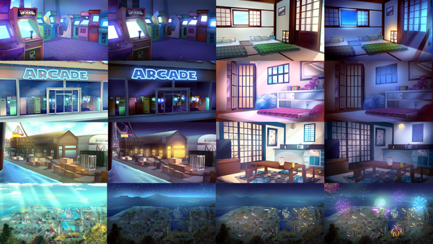 NOBY backgrounds