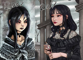 Redraw 2007 to 2017 by FalyneVarger