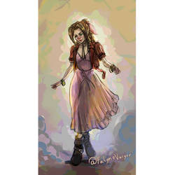 Aerith Color Sketch