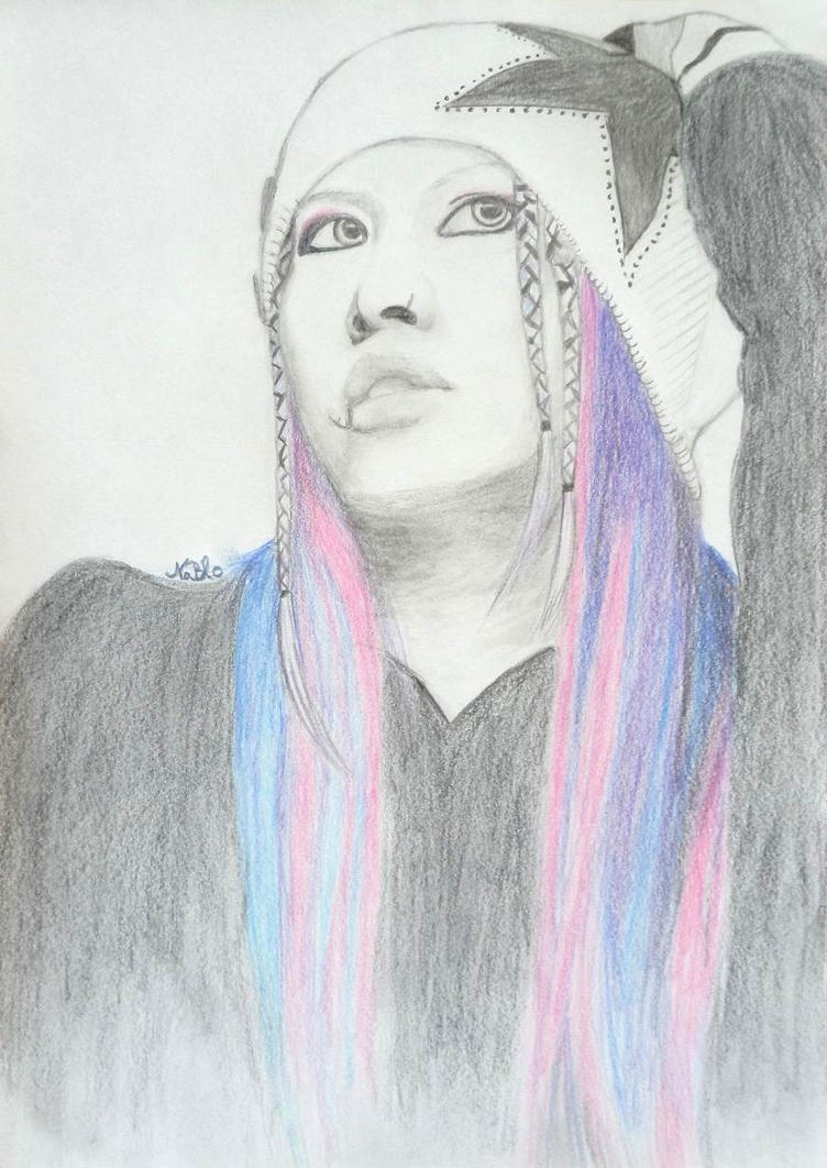 Miyavi Pink by WhiteRaven270
