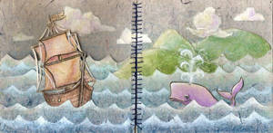 Sea-Faring by woodoflights