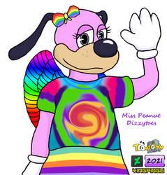 ToonTown Fanart - Miss Peanuts Dizzytoes