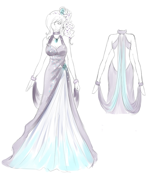 ball gown dress drawings - photo #26