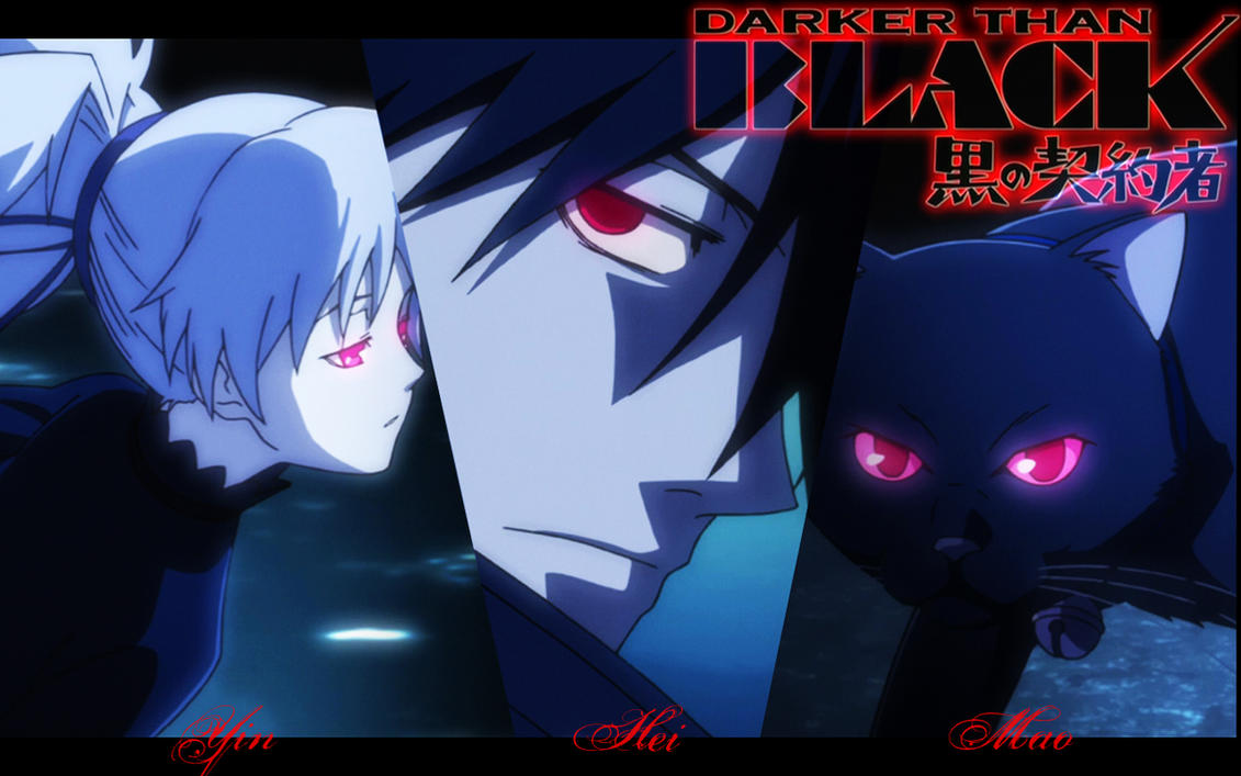 Darker Than Black wallpaper by YukiKawaii-x3