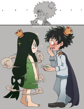 The Deku and the Frog
