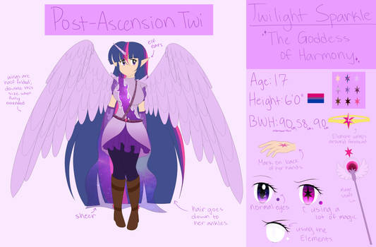 [Shattered Harmony AU] Twilight Sparkle Reference