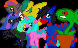 Ponies by Shadria-Anarchy