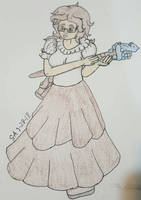 Seline the Cleric re-draw by Shadria-Anarchy