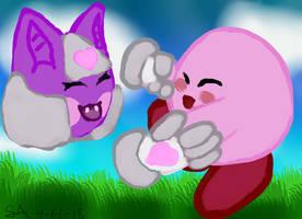 Kirby dance? by Shadria-Anarchy