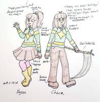 Nyssa/Chara, good future by Shadria-Anarchy