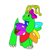Rosemary the Meganium Redo by Shadria-Anarchy
