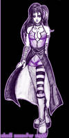 Dark Violet Girl for SYNB