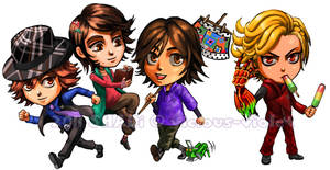 Kamen Rider Stickers 01 by viciousSHADi