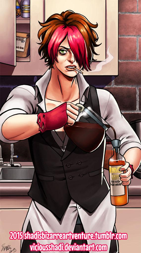 Dante Dane: Morning Person by viciousSHADi