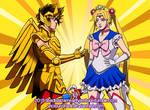 Saints vs Senshi by viciousSHADi