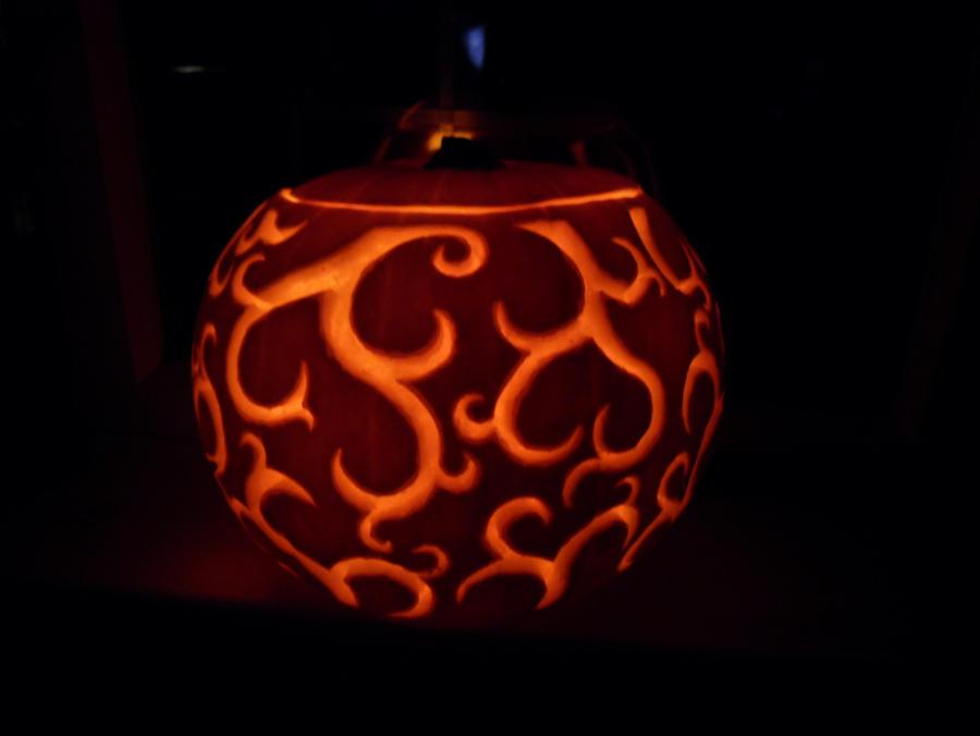 Swirly Pumpkin by kazary